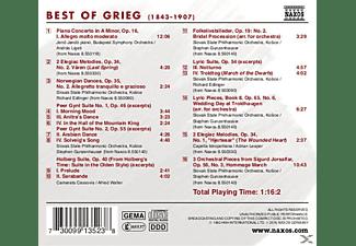 VARIOUS - Best Of Grieg  - (CD)