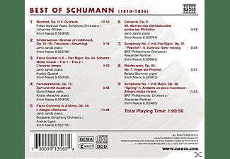 VARIOUS - Best Of Schumann  - (CD)