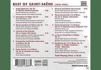 VARIOUS - Best Of Saint-Saens  - (CD)