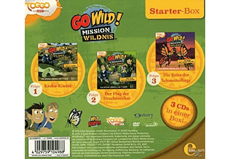 Go Wild!-Mission Wildnis - Starter-Box  - (CD)