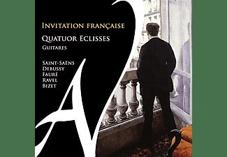 Quatuor Eclisses - Invitation Francaise-Gitarrenmusik  - (CD)