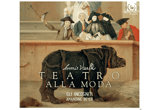 VARIOUS, Beyer Amandine, Gli Incogniti - Teatro Alla Moda  - (CD)