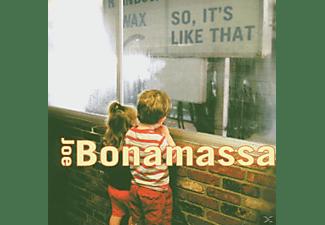 Joe Bonamassa - So, It's Like That  - (CD)
