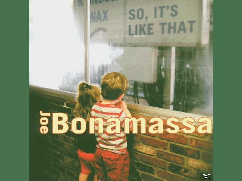 Joe Bonamassa - So, It's Like That [CD]