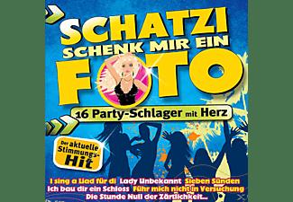 VARIOUS - Schatzi schenk mir ein Foto  - (CD)