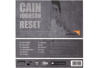 Cain Johnson - Reset  - (CD)