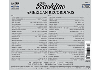 VARIOUS - Backline Vol.337  - (CD)
