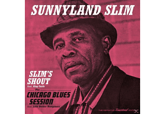 Sunnyland Slim, King Curtis, Little Brother Montgomery - Slim's Shout+Chicago Blues Session  - (CD)