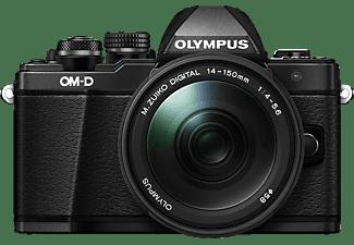 OLYMPUS OM-D E-M10 Mark II  Systemkamera mit Objektiv 14-150 mm f/4-5.6, 7,6 cm Display Touchscreen, WLAN