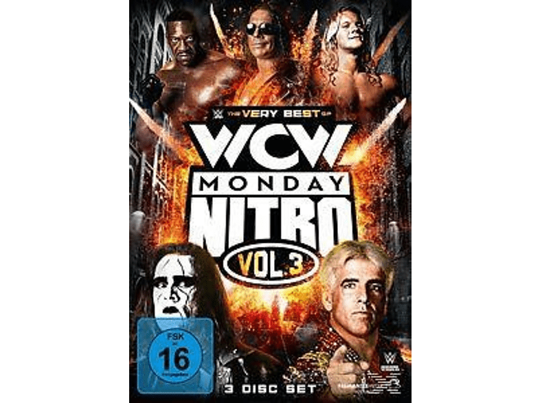 WWE - The Very Best of WCW Monday Nitro - Vol. 3 [DVD]