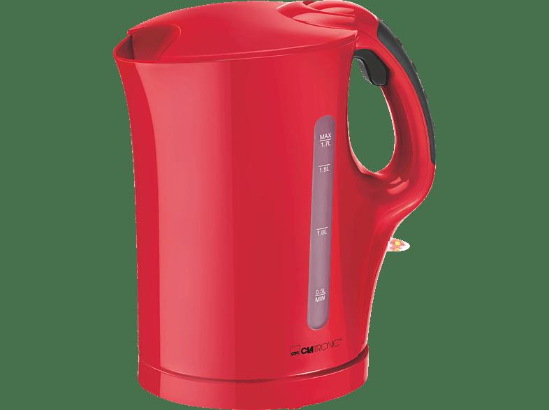 CLATRONIC WK 3445 Wasserkocher, Rot