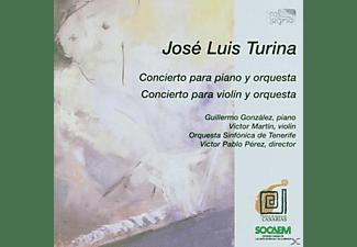 Frank Martin, Gonzales, Perez, So Tenerife - Concierto Piano & Orq./Violin & Orq.  - (CD)