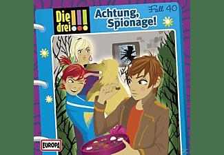 Die Drei ??? - Die drei !!! 40: Achtung, Spionage!  - (CD)