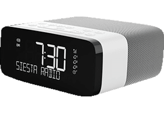 PURE Siesta Rise Digitalradio, Digital, DAB+, DAB, Grau/Weiß