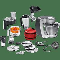 BOSCH MUM59S81DE Homeprofessional Küchenmaschine Schwarz/Silber 1000 Watt