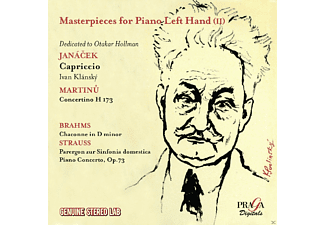 Ivan Klansky, VARIOUS - Meisterwerke Für Klavier Linke Hand V.2  - (CD)