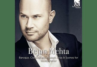 Bejun Mehta, Freiburger Barockorchester, VARIOUS - Recital Bejun Metha  - (Maxi Single CD)