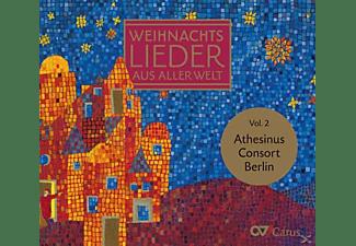 Athesinus Consort Berlin, Klaus-martin Bresgott - Weihnachtslieder Aus Aller Welt Vol.2  - (CD)