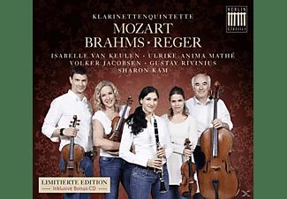 Sharon Kam, Isabelle Van Keulen, Ulrike-anima Mathe, Volker Jacobsen, Gustav Rivinius - Klarinettenquintette  - (CD)