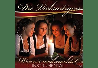 Die Vielsaitigen - Wenn's Weihnachtet-Instrumen  - (CD)