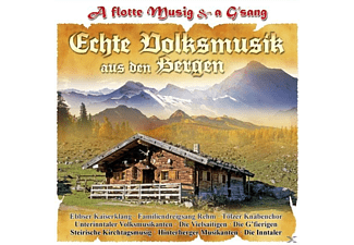 VARIOUS - A Flotte Musik & A G'sang-Ec  - (CD)