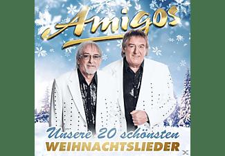 Die Amigos - Unsere 20 Schönsten Weihnachts  - (CD)