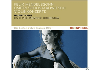Hilary Hahn, Oslo Philharmonic Orchestra, Marek Janowski, Hugh Wolff - Spiegel: Die Besten Guten-Violin Concertos  - (CD)