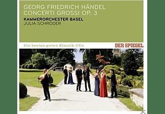 Kammerorchester Basel, Julia Schröder - Spiegel: Die Besten Guten-Concerti Grossi Op.3  - (CD)