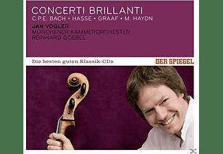 Jan Vogler, Münchener Kammerorchester, Reinhard Goebel - Spiegel: Die Besten Guten-Concerti Brillianti  - (CD)