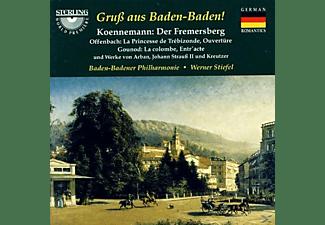 Baden-badener Philharmonie - Gruß aus Baden-Baden! Koennemann: Der Fremersberg  - (CD)