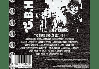 Gbh - The Punk Singles 1981-84  - (CD)