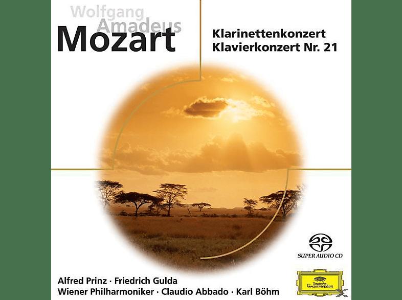 Friedrich Gulda - KLARINETTENKONZERT/KLAVIERKONZERT NR.21 [SACD Hybrid]