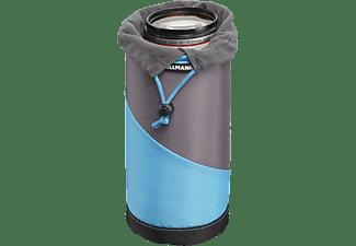 CULLMANN 98634 Lens Container L Objektivtasche, Cyan/Grau