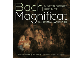 John & Dunedin Consort Butt - Magnificat In Es-Dr  - (SACD Hybrid)