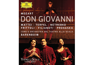 Anna Netrebko - Don Giovanni  - (Blu-ray)