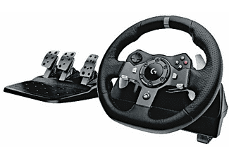 Volante - Logitech G920 Driving Force Racing Wheel, Xbox One, PC