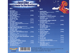 VARIOUS - Just Like-A Tribute To The Beatles  - (CD)