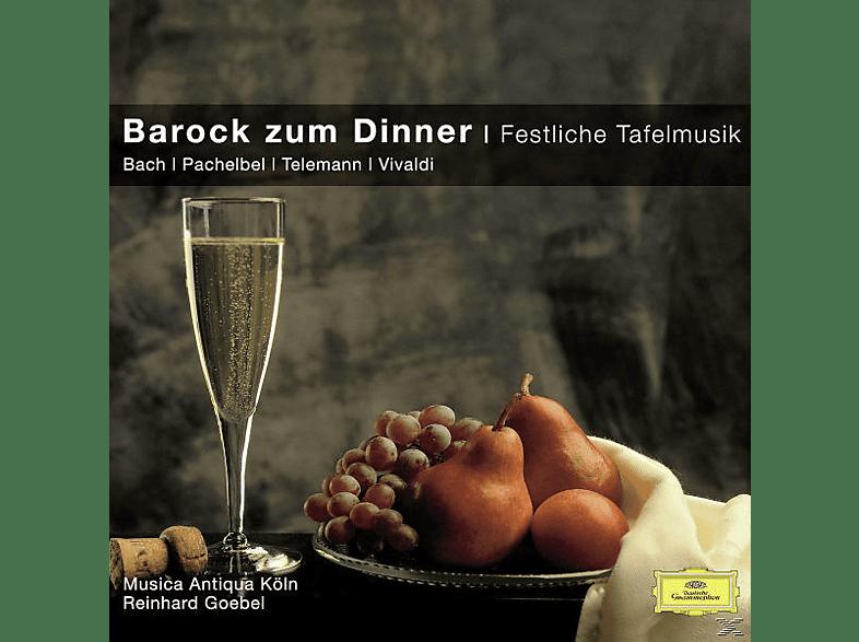Reinhard Goebel, Reinhard/mak Goebel - BAROCK ZUM DINNER - FESTLICHE TAFELMUSIK [CD]