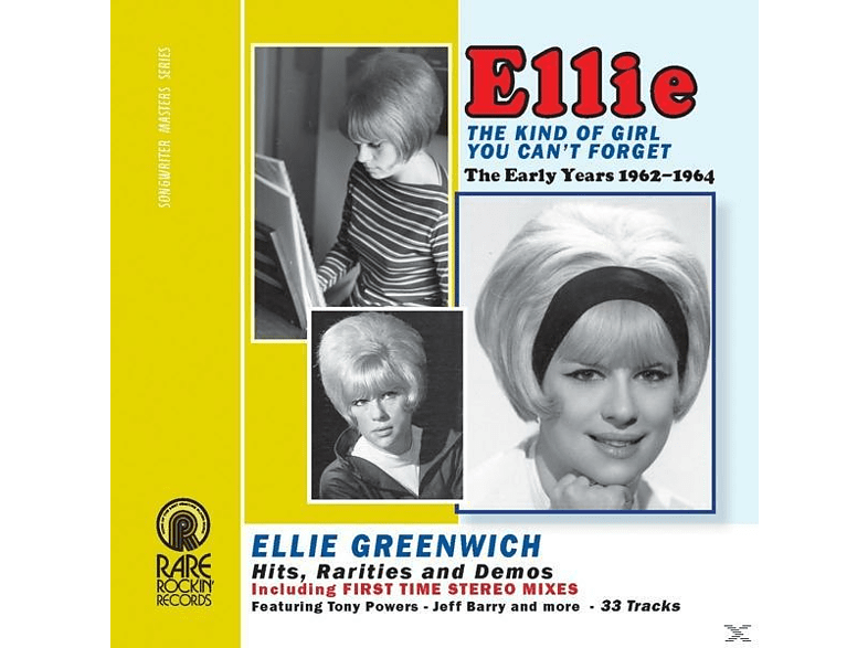 Ellie Greenwich - The Kind Of Girl You Can't Forget ( [CD]