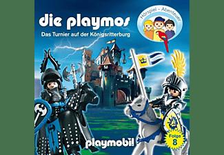 Die Playmos - (8)Das Tunier Auf Der Königsritterburg (Relaunch)  - (CD)
