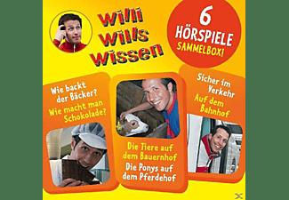 Willi Wills Wissen - (1)Sammelbox Mit 6 Hörspielen  - (CD)