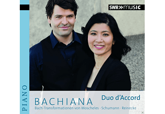 Duo D'accord - Bachiana  - (CD)