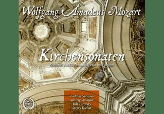 Vladimir Spivakov, Anatoly Sheinyuk (Vl), Yuli Tur - Kirchensonaten  - (CD)