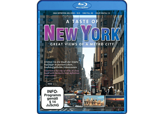 A Taste of New York - American Dreams Blu-ray