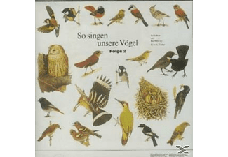 Vogelstimmen - So Singen Unsere Vögel 2  - (CD)
