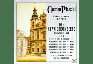 Piazzini Carmen - Die Klavierkonzerte (Teil 2)  - (CD)