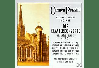 Piazzini Carmen - Die Klavierkonzerte (Teil 5)  - (CD)