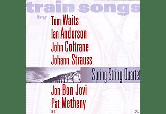 Spring String Quartet - Train Songs  - (CD)