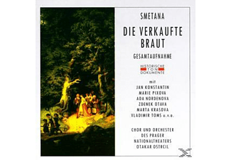 ORCH.D.PRAGER NATIONALT - Die Verkaufte Braut  - (CD)