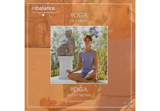 Stephan North - Yoga-Die 5 Tibeter  - (CD)